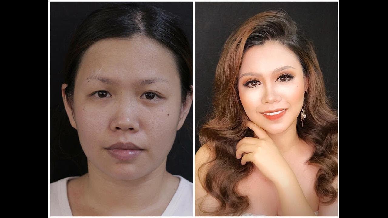 Mắt Không Đều Trang Điểm Thành Mắt Siêu To / Hùng Việt Makeup