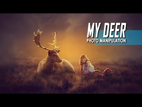 Photo Manipulation Tutorial Photoshop : My Deer