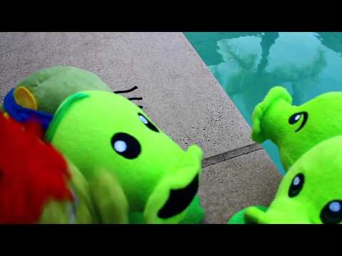 Plants vs. Zombies Plush: Peashooter and Paco's Adventure- Pool