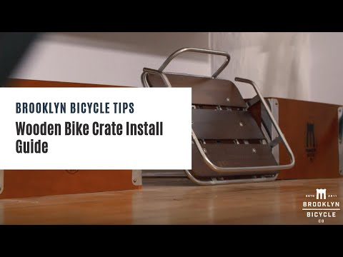 How To: Install the Rear Wooden Bike Crate