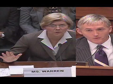 Trey Gowdy Laughs While Interrogating Elizabeth Warren!