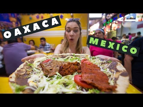 OAXACA FOOD VLOG | Tlayudas, Tamales, Mezcal + The BEST Food In MEXICO! | Travel Vlog