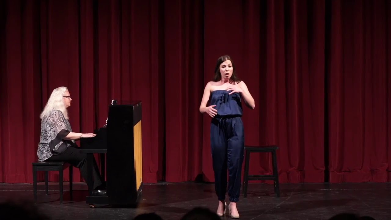 "Molly Higgins - ""The Glamorous Life"" (A Little Night Music; Stephen Sondheim)"