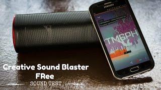 Creative Sound Blaster FRee Bluetooth Speaker - Sound Test