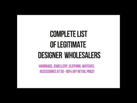 Selling Designer Merchandise Made Easy