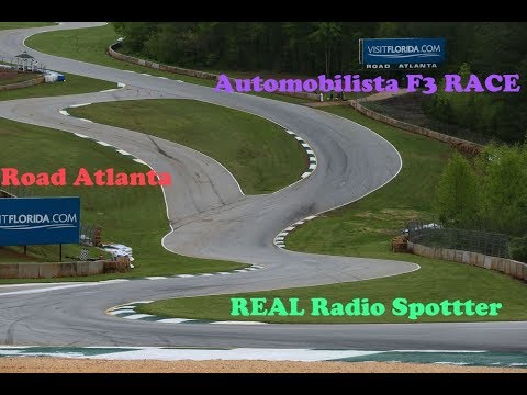 Automobilista: F3 Road Atalanta Race with NEW REALTIME RADIO SPOTTER and Track IR!