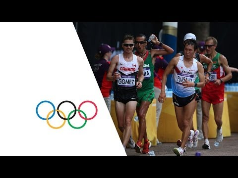 Highlights of the Race Walk Competition at the London 2012 Olympics