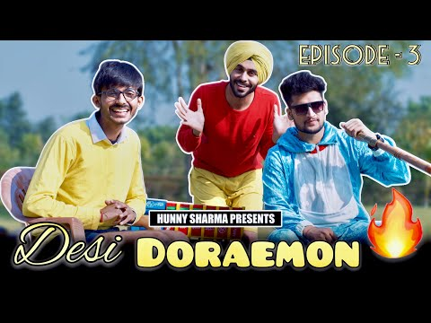 DESI DORAEMON - 3 | Ulti Duniya (shinchan ) | HUNNY SHARMA |
