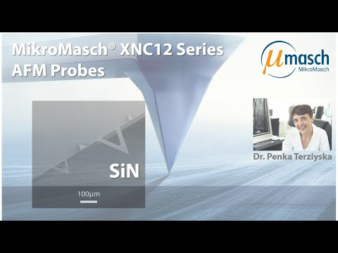 <h3>Product Screencast - XNC 12 AFM Probe Series</h3> Presented by Dr. Penka Terziyska <br />Product Manager