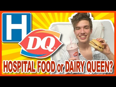 Hospital Food OR Dairy Queen Chicken Mozzarella? | KBDProductionsTV