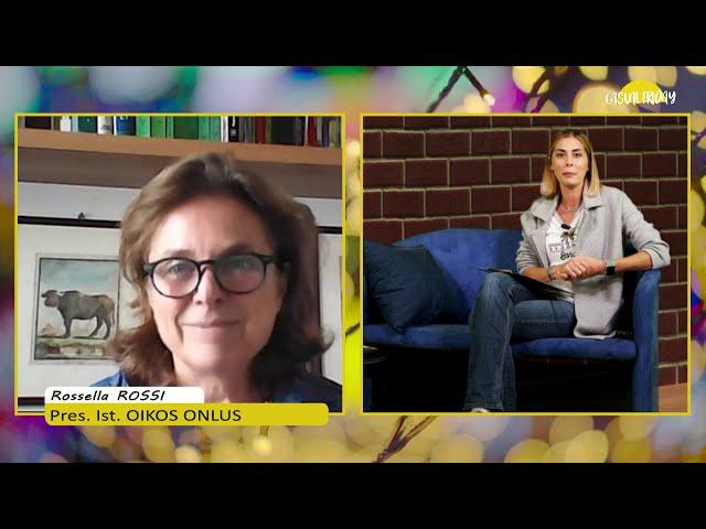 Casual Friday, puntata del 13/11/10. Misa Urbano ospita Rossella Rossi dell'Istituto OIKOS di Milano