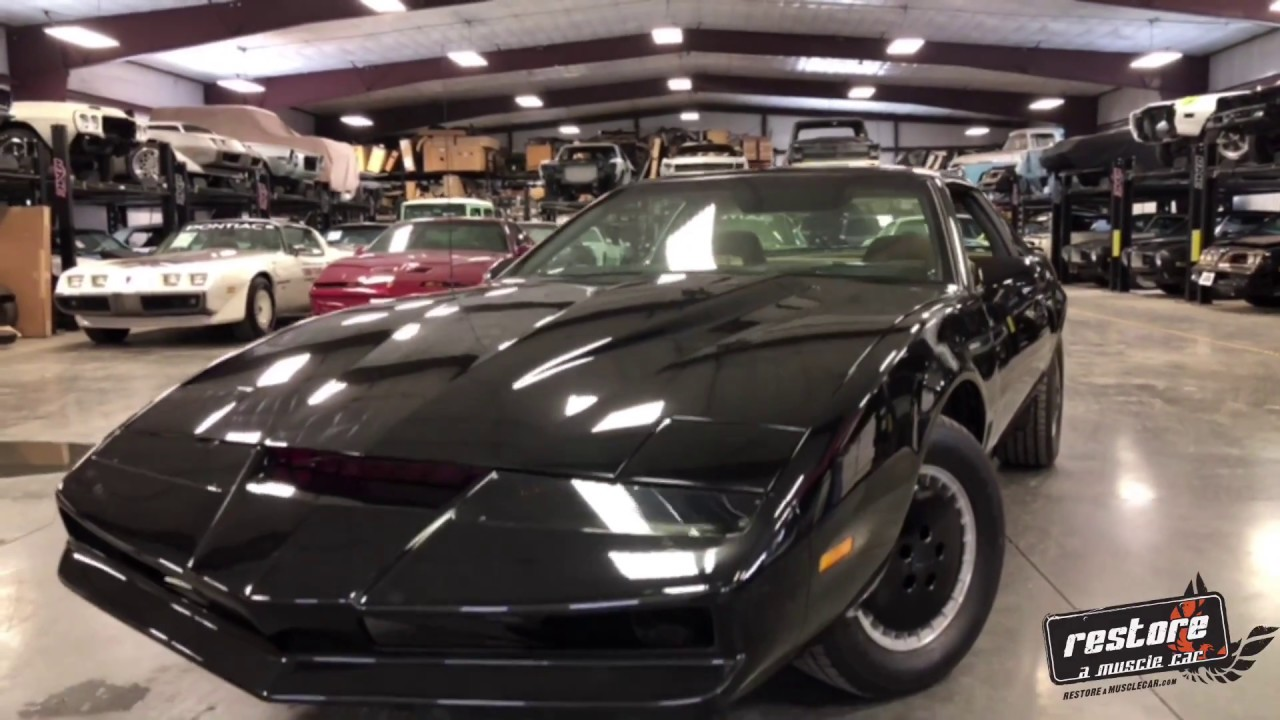 Knight Rider Car For Sale >> Knight Rider 1982 Trans Am Sold Stock 980