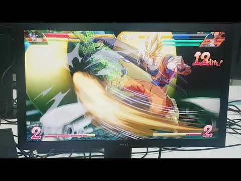 Dragonball FighterZ Scott vs Mr E Game play 2
