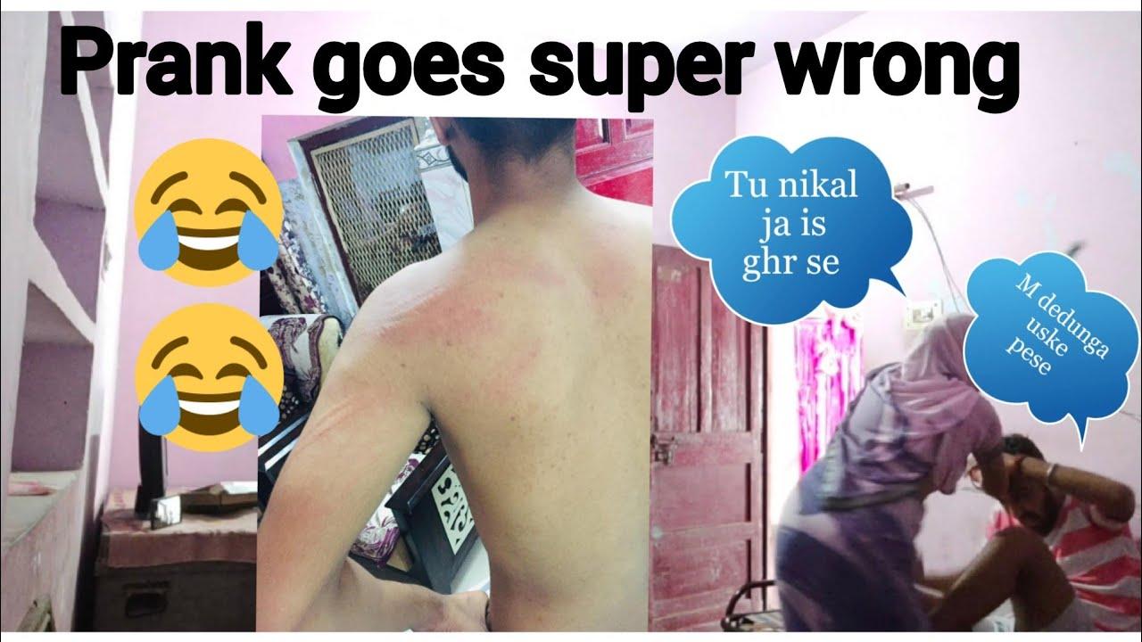 Peso k chakkar m scooty bhech di prank on mom goes wrong 😂😂😂😂