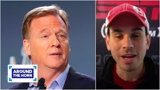 Reacting to Roger Goodell's 'dictatorial' memo | Around the Horn