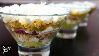 """Салат """"Нежность"""" 5 минут, и вкусный салат готов!"""