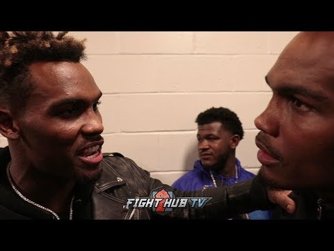 """JERMALL CHARLO TO DANIEL JACOBS """"KEEP RUNNING YOUR F****** MOUTH!"""""""