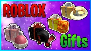 ALL ROBLOX GIFT ITEMS! (2007)