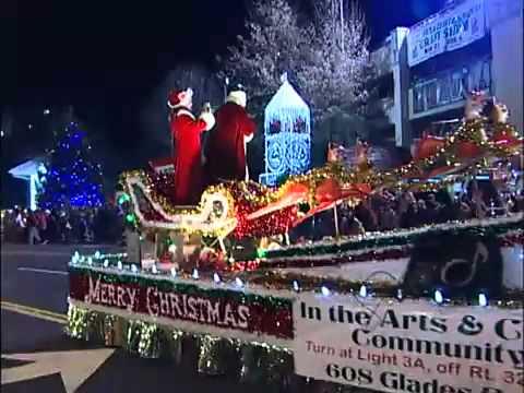 Gatlinburg Christmas Parade.Gatlinburg Christmas Parade December 2011