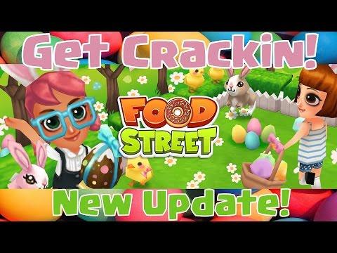 ►Food Street◄ Get Crackin' Update |New Items In Shop| Decorating Restaurant (#1)