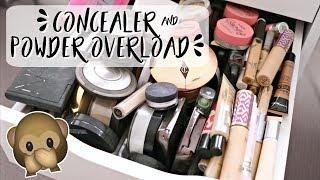 Concealer & Setting Powder Declutter | Rachael Jade
