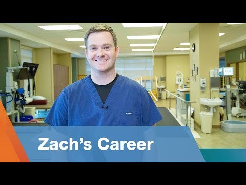 Zach's Career as a Physical Therapist