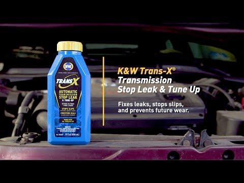 How To Fix an Automatic Transmission Leak with K&W® TRANSX® Automatic Transmission Stop Leak