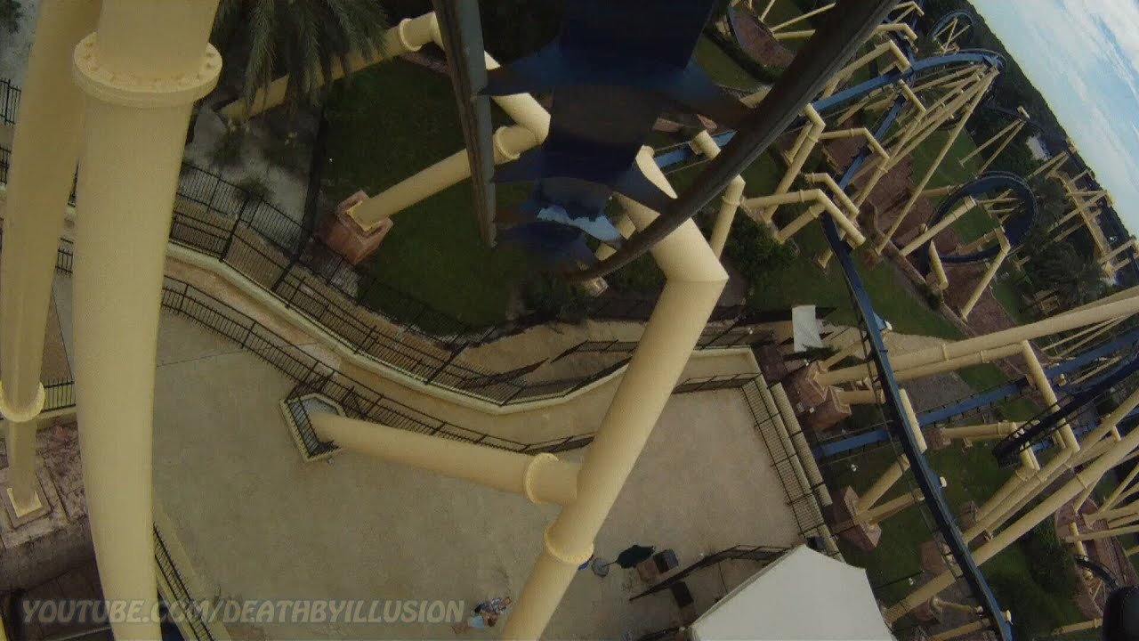 Montu On-ride Front Seat (HD POV) Busch Gardens Tampa Bay - YouTube