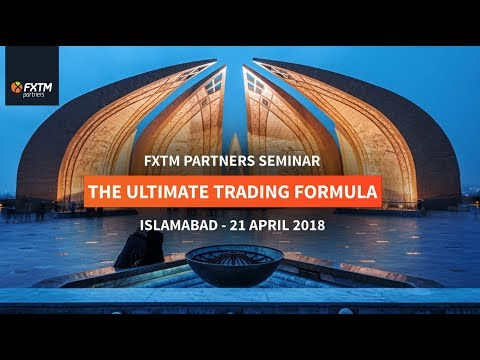 Ultimate Trading Formula Seminar & Workshop 2018 | Pakistan | 21-25 April 2018