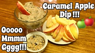 THE BEST THING I EVER ATE  CARAMEL APPLE DIP