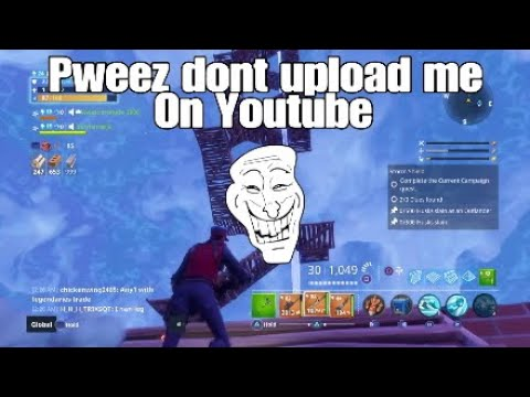 Fortnite- Scammer Kid Begs Me Not To Upload Him |Save The World PVE #6