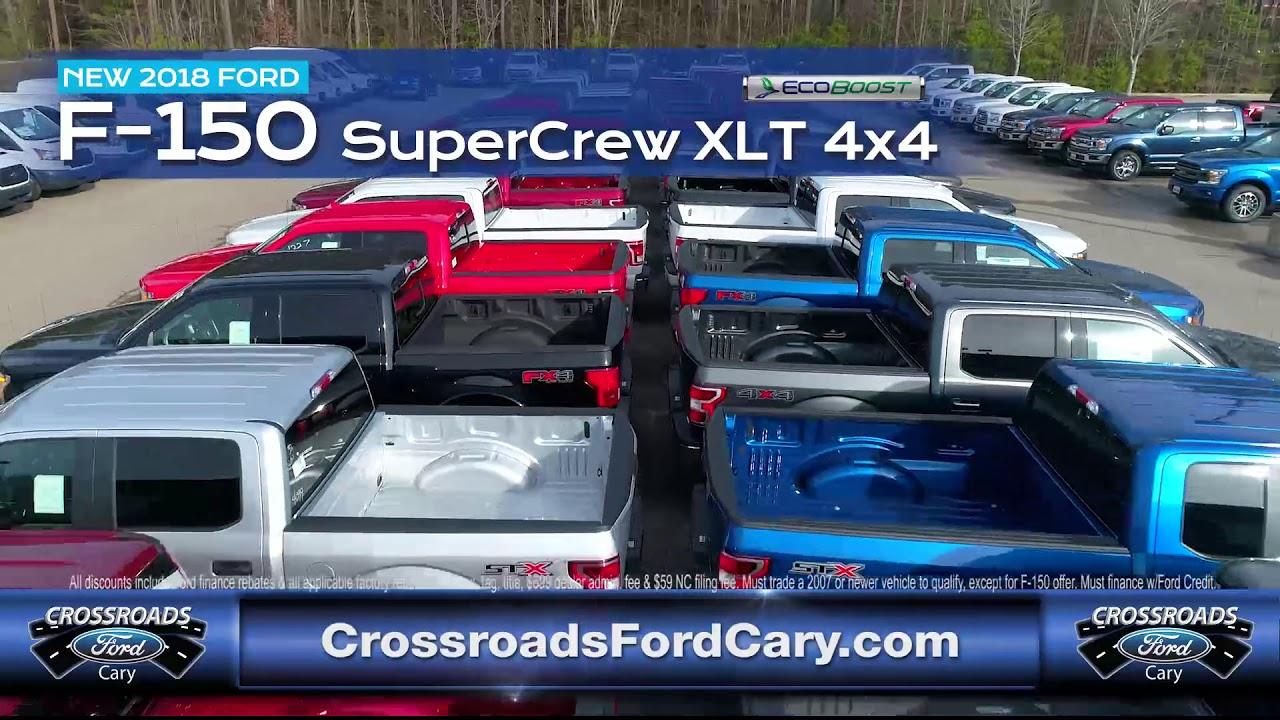 Crossroads Ford Cary Charlieu0027s Fan Club Trucks 5 15 18
