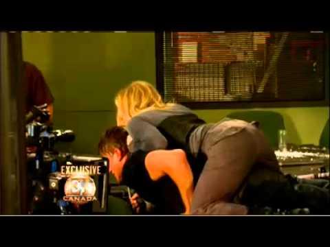 Katheryn Winnick - behind the scenes of KILLERS premiere, Entertainment Tonight