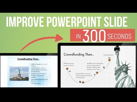 PowerPoint Slide Design in 300 seconds — Episode 6 — How to turn bullets into story