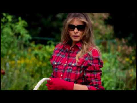 News!, Melania Trump is under fire for the outfit she wore in Michelle Obama's vegetable garden,N