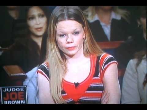 Judge joe brown dumb blonde girl