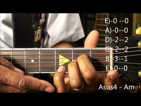 Guitar Chord Form Tutorial #205 Frozen Style Chord Shapes EricBlackmonMusicHD