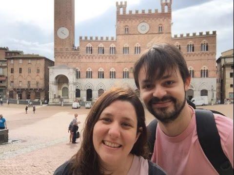 Un dia en Siena, Italia