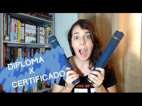 Qual a diferença entre diploma e certificado?   Mochileira do Design