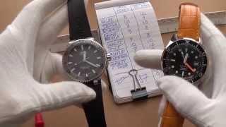 The Best Midrange Diver Watch Duel - Oris Aquis 40mm Date Vs. Squale 500 Diver