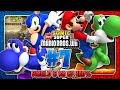 Sonic & Mario in New Super Mario Bros Wii - Co Op 100% - Part 7