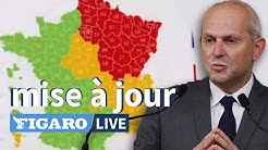 🔴🟠🟢Les nouvelles CARTES du déconfinement en France, mise à jour par Jérôme Salomon