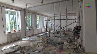 В школах и детских садах Лесного в этом году проходят масштабные ремонты