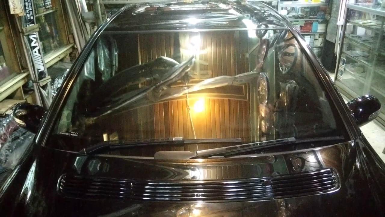 Retailer Resmi : Masterpiece Kaca Film Ice Yuki 35 @ Mercedes Benz W203
