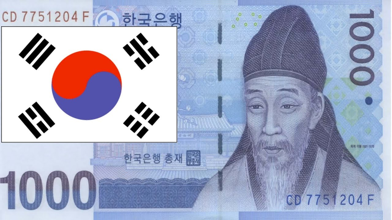 1000 Korean Won New