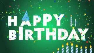 Carte D Anniversaire Dromadaire Happy Birthday Lettres Animees Youtube