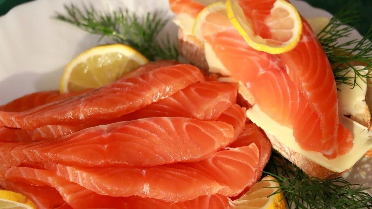 как посолить красную рыбу сухим способом в домашних условиях рецепт
