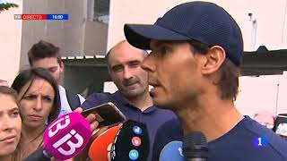 Rafael Nadal is back to Mallorca after winning the USO 2017