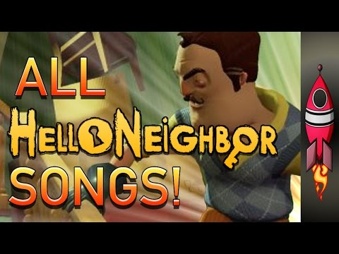 🔴 ALL Hello Neighbor Songs | Rockit Gaming 🚀