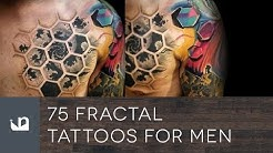 75 Fractal Tattoos For Men